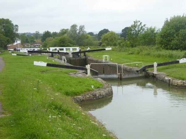 Lock 31 at Caen Hill