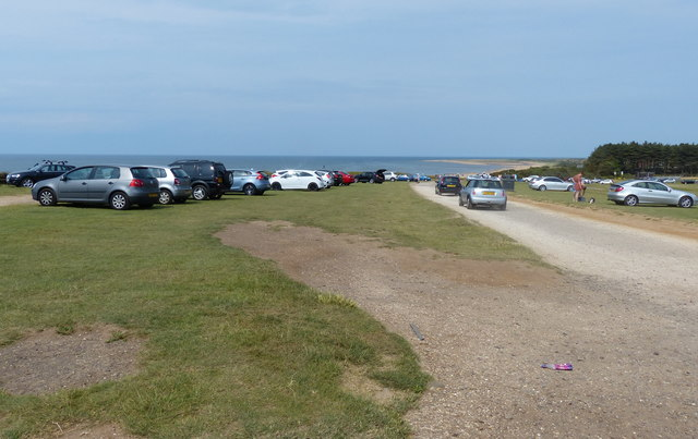 Car park at St Edmund's Point