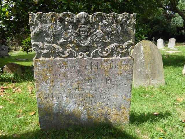 Gravestone in Shorne Churchyard