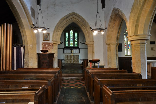 Chastleton, St. Mary's Church: The nave