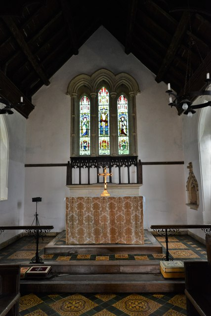 Chastleton, St. Mary's Church: The chancel