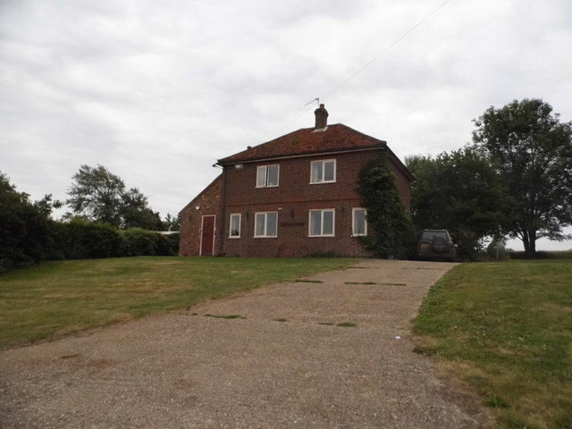 Isolated house on Gaddesden Lane