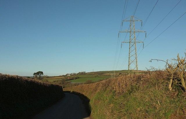 Lane to Treveighan