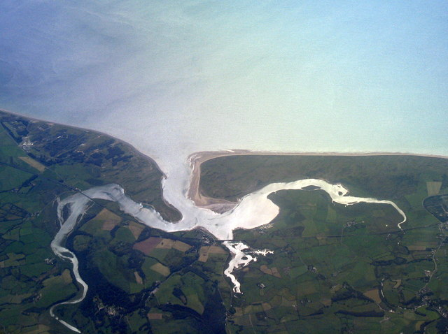 Ravenglass from above the Lake District