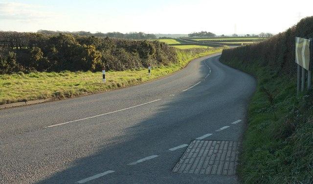 B3266 at Trevenning Cross