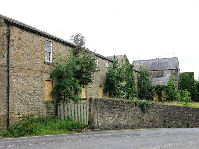 Part of the former Hexham Hospital, Dean Street