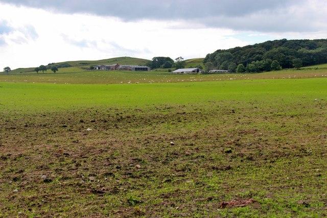 Portrye farm land, Great Cumbrae