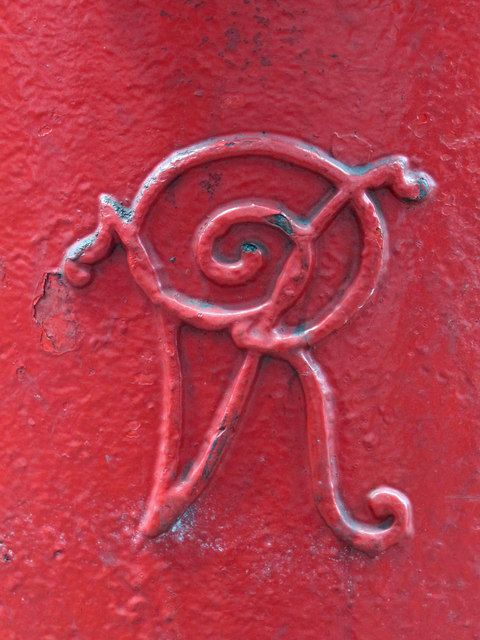Victorian postbox, Seven Sisters Road / Albert Road, N15 - royal cipher