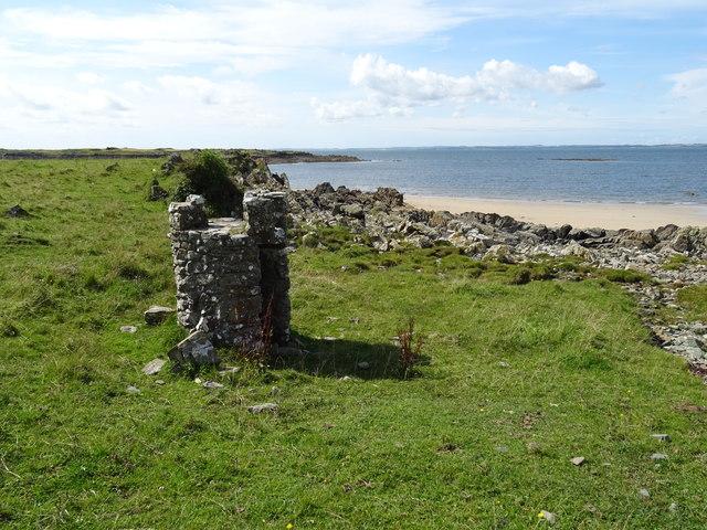 Barlocco beach Knockbrex Dumfries and Galloway