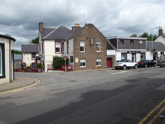 Royal Hotel, Laurencekirk