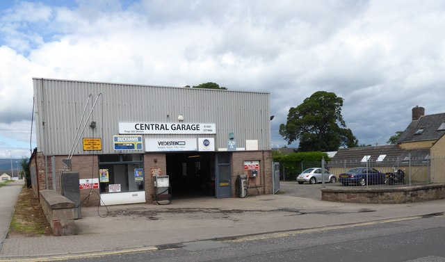 Central Garage, Laurencekirk