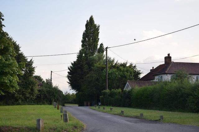 No through road in Margaretting Tye