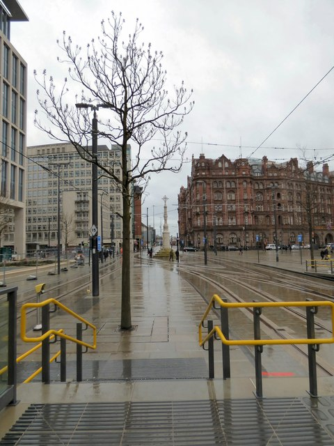 Looking towards Lower Mosley Street