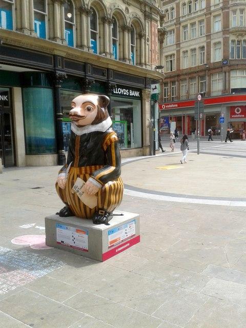 Birmingham Big Sleuth New Street Bear