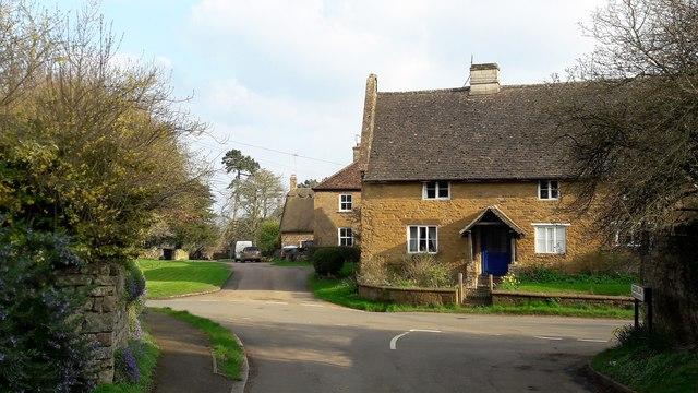 East side of Shenington Green, from Stocking Lane