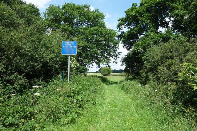 Ridgeway Closed to Motor Vehicles