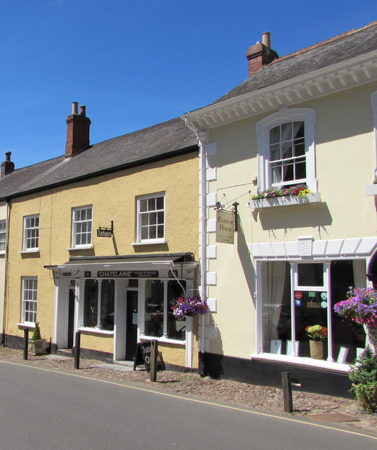 Chatelaine Antiques, 14 West Street, Dunster