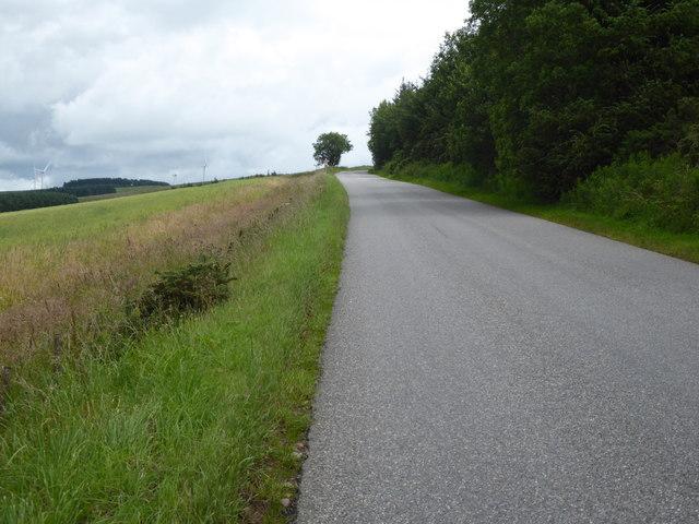 Ascending Hill of Garvock