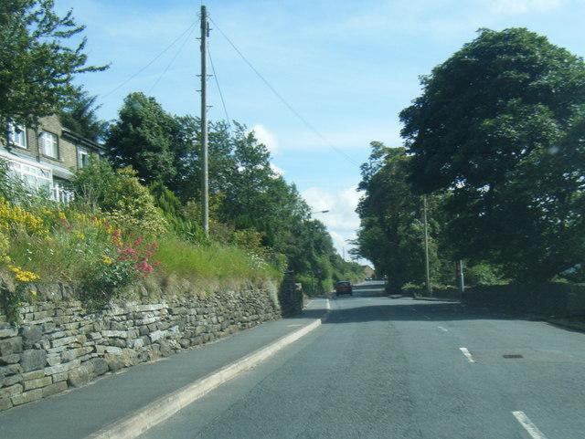 Mixenden Lane near Cobble Bank Farm