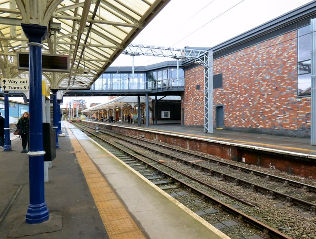 Altrincham Metrolink Terminus