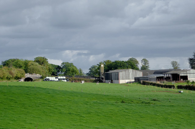 Pasture east of Lower Frankton in Shropshire