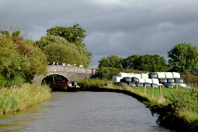 Broom Bridge east of Lower Frankton in Shropshire