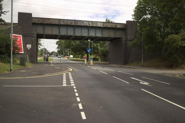 Railway Bridge, Beeston Ring Road