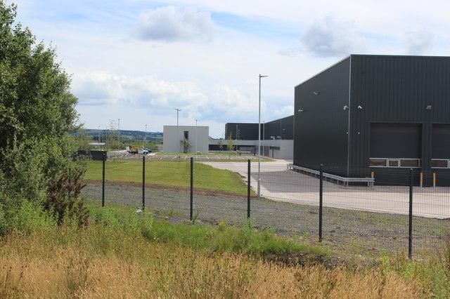 New IG Doors factory, Oakdale Business park, July