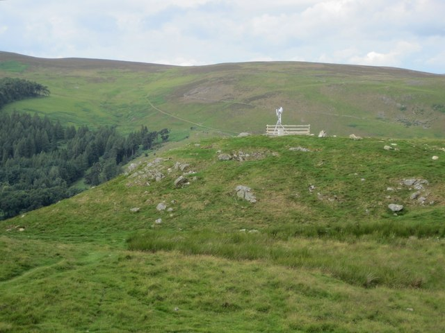 Repeater station, Cademuir Hill