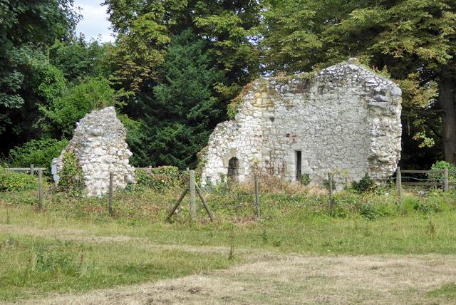 Ruins of Ankerwycke Priory