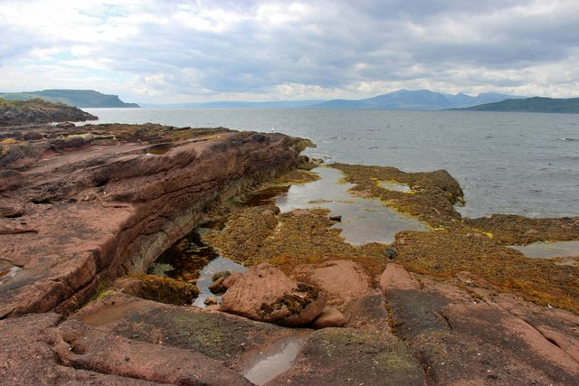 Great Cumbrae, west coast