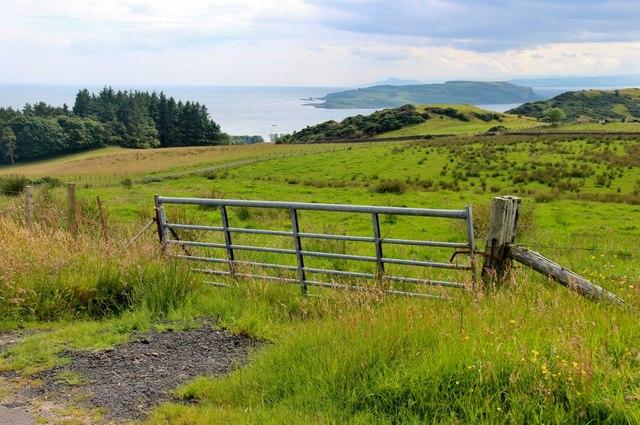 Terrach Hill and Little Cumbrae