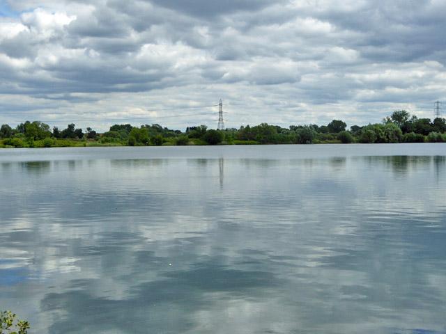 Lake between Wraysbury and Horton