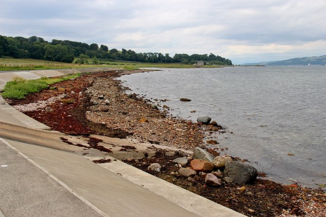 Coastal protection at Ballochmartin Bay