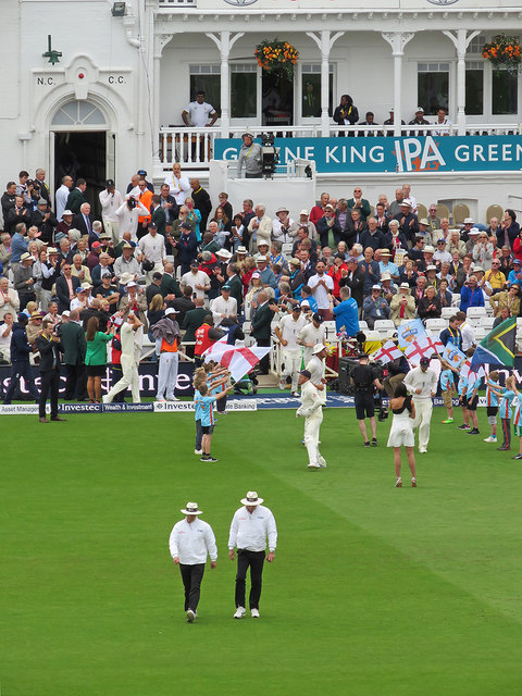 At the start of the 2017 Trent Bridge Test Match