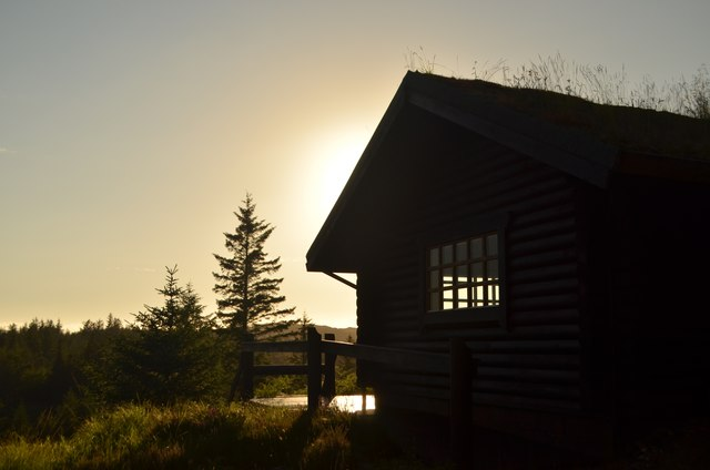 Log Cabin in Duartmore Forest, Sutherland