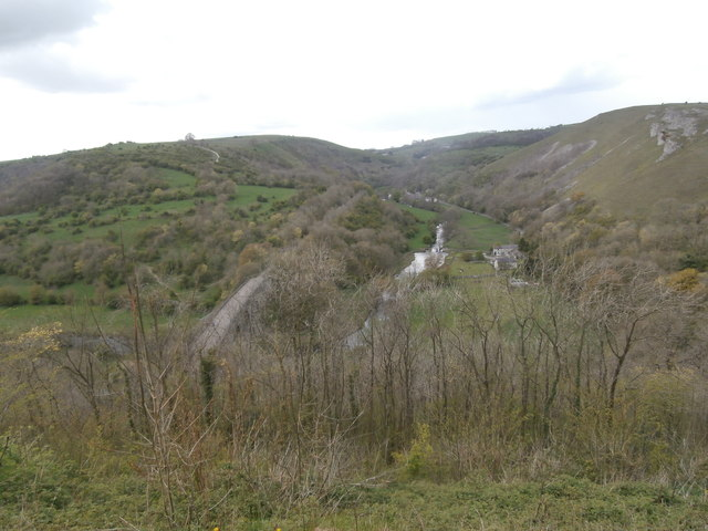 Looking north-west from Monsal Head