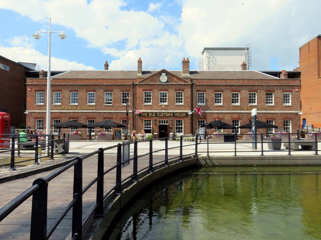 The Old Custom House on Gunwharf Quays