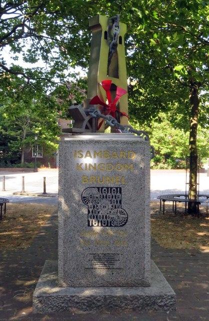 A memorial to Isambard Kingdom Brunel