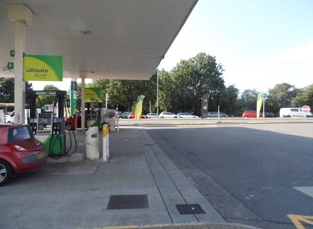 BP petrol station on Breakspear Way