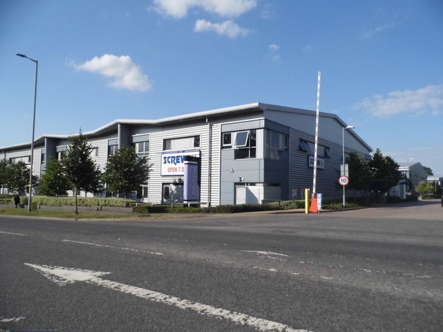 Screwfix on Maylands Avenue, Hemel Hempstead