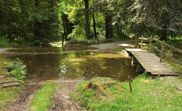 The Watersplash, Ugbrooke Park