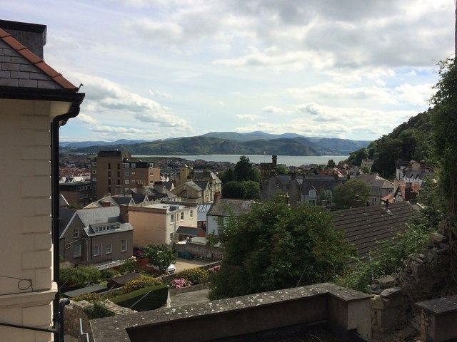 View towards Conwy Bay