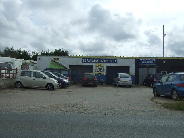Garage on Mellanear Road (B3302)