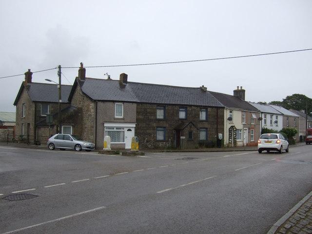 Houses on Chapel Road, Leedstown