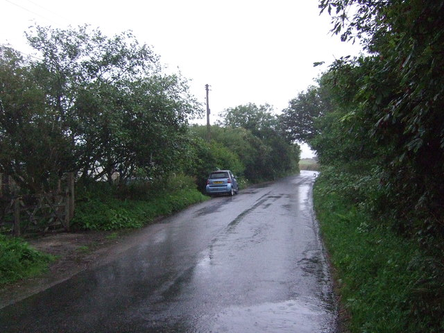B3280 towards Black Rock