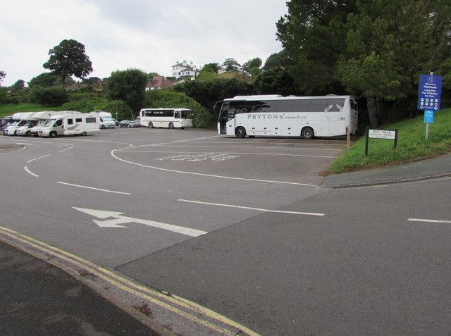 Holmbush Car Park, Lyme Regis