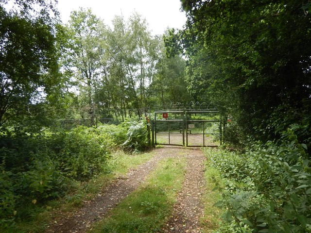 Pirbright Ranges - Dog Hill Entrance