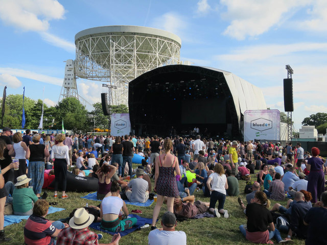Bluedot Festival main stage, Jodrell Bank