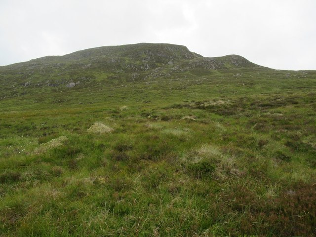Slopes of Carn Dearg above upper Speyside
